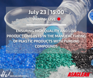 Гарантиране на високо качество и ниски производствени разходи в производството на изделия от пластмаса чрез почистващи гранулати-2020